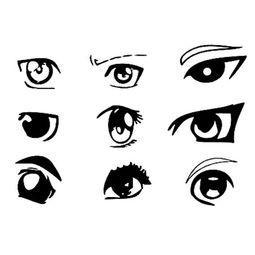 动漫男生眼睛简笔画