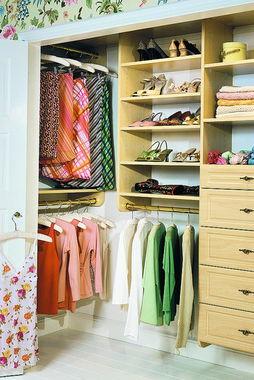 衣柜侧板如何和柜门统一