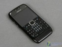 黑色全键盘商务机 诺基亚E71大降200元