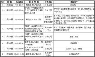 荆州供电公司停电通知