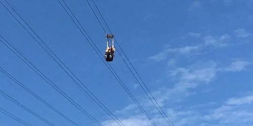 视频揪心女子在网红景点高空索道坠落身亡官方通报