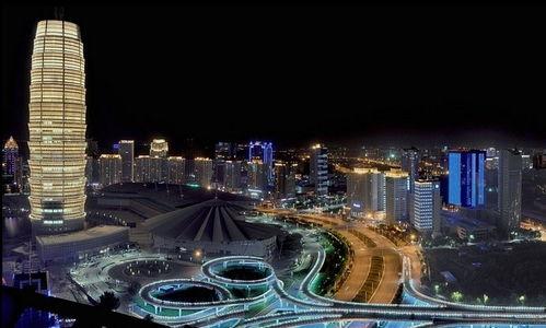 郑州是一座飞速发展的城市;