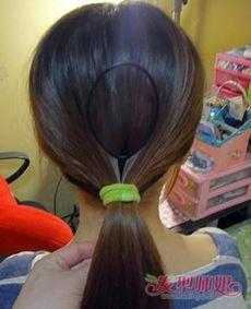 韩式盘发器怎么用
