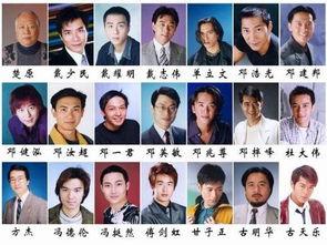 求香港TVB无线所有男明星电影演员的名字,及照片或图片