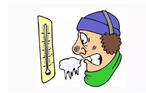 天气冷的微信说说