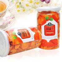 HAOQU 好祺 胡萝卜 片85G 罐 台湾进口蔬菜干