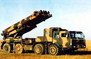 中国300毫米远程火箭炮