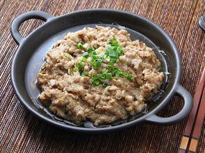 蒸家常肉饼