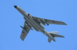 """轰-6k""""战神""""战略轰炸机"""