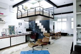 郫县二手房改造 交换空间设计案例 优雅与现代的典型结合
