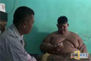10岁小男孩体重380斤,被称为世界最胖的男孩