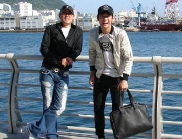 金秀贤和父亲