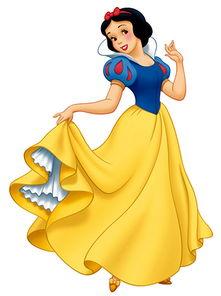 怎么画一个白雪公主