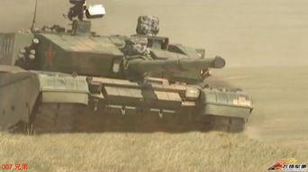 资料图:99大改坦克出战上合军演.