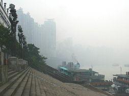 雾重庆 看不清的美丽