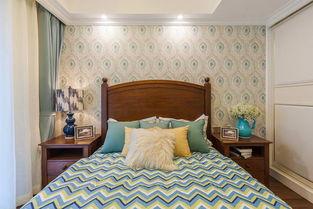 96平美式三居室小卧室设计图-您正在访问第6页 装修效果图案例 2018...