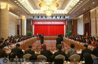 广西代表团审议全国人大常委会工作报告