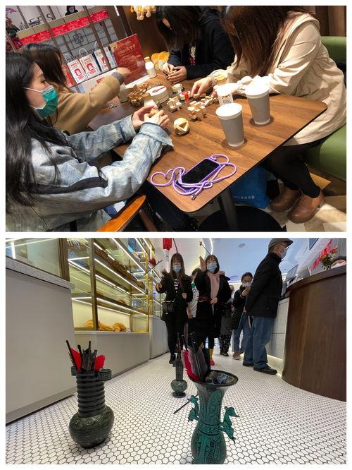 除了光明悠焙武定店,其余三家光明悠焙门店的元宵活动也精彩纷呈,吸引了各路市民前来打卡.