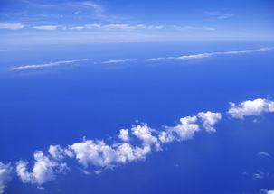 纯天空图片天空背景云朵蓝天白云天