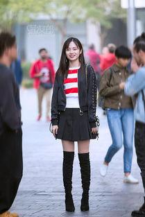 燕女郎 街拍第33期 短裙热裤透视装 深秋中的时尚潮人依然清凉