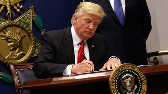 特朗普签署禁穆令