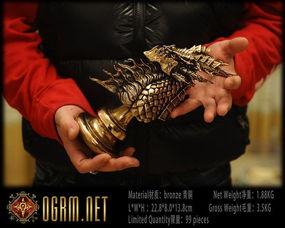 耐萨里奥青铜雕像成品展示