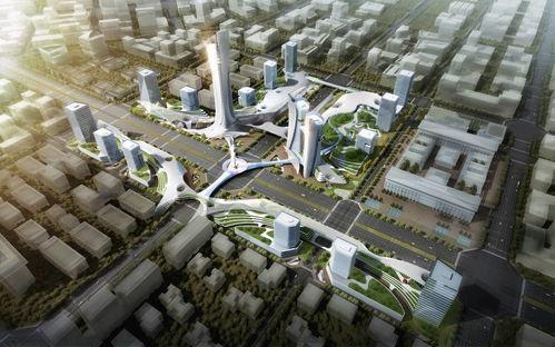 新西安·十字未来公园(城市设计及标志性建筑概念设计)