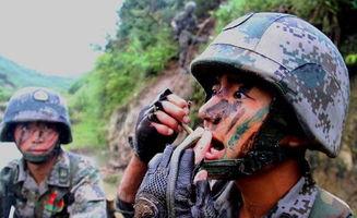 中国军人十大经典表情图片