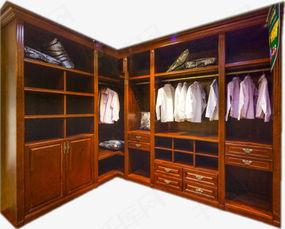 深棕色衣柜