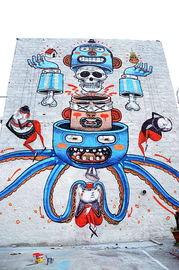 Diego Della Posta 街头涂鸦艺术欣赏