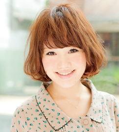 大脸方脸适合什么短发发型图片 日本职场女性杂志强力推荐