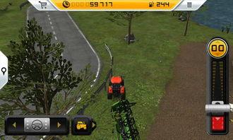 模拟农场割穗机怎么用
