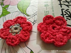 怎样用毛线编织小花