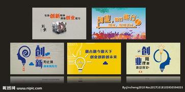 创新创业创意宣传语