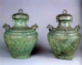 古青铜器。
