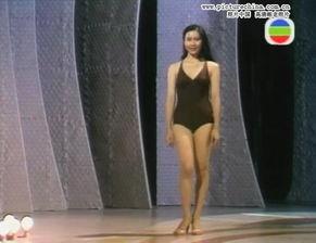风情万种香港小姐泳装照