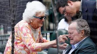 揭秘芭芭拉布什16岁舞会遇老布什二人一见钟情