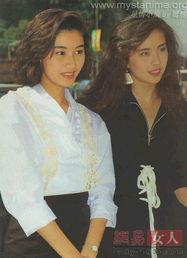 没有PS的90年代香港女星旧照 随手一抓就是美女