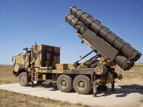 随后土耳其就在ws-1型火箭炮的基础之上山寨出了自己的t-300火箭炮,并