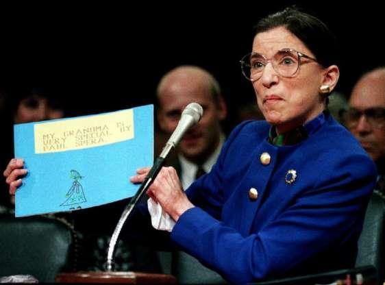 美国大法官鲁斯巴德金斯伯格,改变了千千万万妇女的地位
