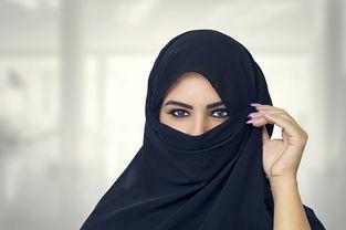 神秘的阿拉伯美女高清图片