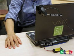隐形光电鼠标 点击桌子操作电脑