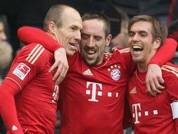 罗本当选德甲赛季最佳拜仁团结一心誓取双冠王