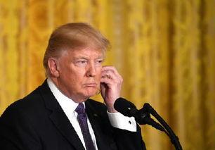 美国总统特朗普新华社记者