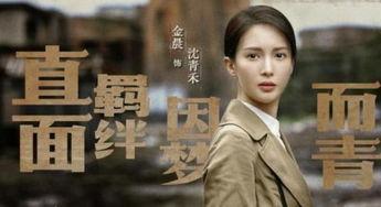 金晨这次在《隐秘而伟大》中演沈青禾.