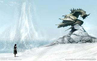 雪山魔影图片