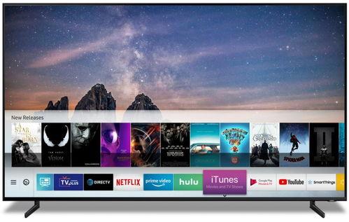 三星智能电视显示itunes应用服务.