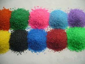 人工染色彩砂
