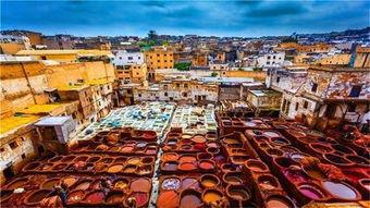 都说摩洛哥是多彩的国度