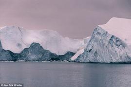 冰川悬崖荒芜之地